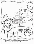 Свинка пеппа игры для девочек раскраски