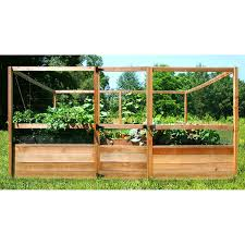 deer proof garden. Deer Proof Cedar Complete Raised Garden Bed Kit - 8\u0027 X 12\u0027