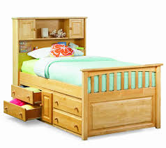 twin captains bed with drawers. Beautiful Bed Amazoncom Captu0027s Bookcase W Underbed 4 Drawer Chest Natural MapleTwin  Home Improvement With Twin Captains Bed Drawers W