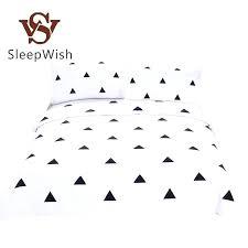geometric duvet whole bedding geometric duvet cover set black and white home textiles simple printed cover