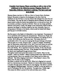 death of a naturalist seamus heaney essay term paper academic death of a naturalist seamus heaney essay