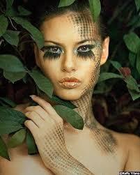 wele to the jungle exotic makeup eye makeup makeup art medusa makeup