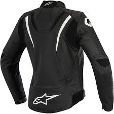 alpinestars womens stella jaws perforated leather jacket color