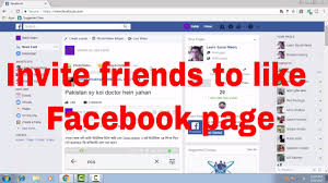 how to invite fb friends and send invitation in messenger to like my facebook page fb tips 98