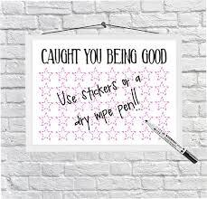 Good Chart For Kids Girls Star Chart Kids Reward Chart Caught You Being Good Download Printable Sticker Chart Kids Behaviour Chart