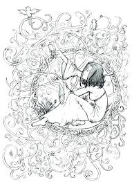 Coloring Pages For Adults Online Dongdaome