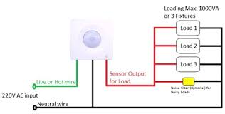 free sample motion sensor wiring diagram automotive brilliant pir 3 wire sensor color code at Sensor Wiring Diagram