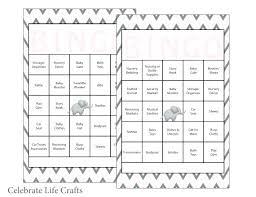 Baby Shower Bingo Cards Baby Shower Bingo Cards Printable Free