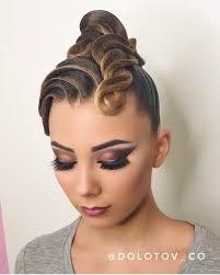 ロング 社交ダンスヘアスタイルおしゃれまとめの人気アイデア