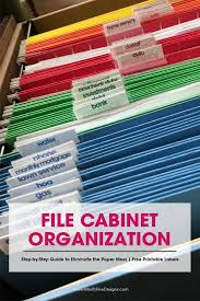 file cabinet organization. Beautiful Organization These File Cabinet Tips U0026 Tricks Will Get Your Paper Chaos Organized In No  Time Use The Free Printable Labels To  For File Cabinet Organization Pinterest