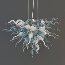 viz glass lulu chandelier 3d model max obj mtl 3ds fbx 2