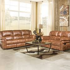 picture of cronwell saddle reclining sofa loveseat