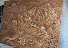 customized resin fiberglass wall relief sculpture