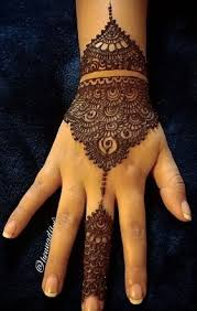 Small Picture 15 Cute and Easy Black Mehndi Designs with Photos Styles At Life