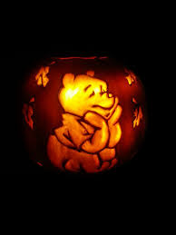 Exquisite Image Of Kid Halloween Decoration Using Winnie The Pooh Pumpkin  Carving Ideas : Exquisite Kid ...