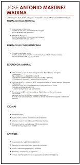 Curriculum Vitae Builder Gorgeous Modelo De CV En Ingles Curriculum Vitae Builder Y Espa Ol