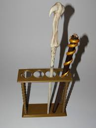 Harry Potter Wand Display Stand Printing In 100D Wand Display 41