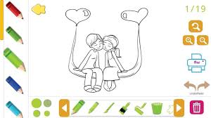 Color this couple in love. I Love You Coloring Book Love Coloring Pages 2020 For Android Apk Download