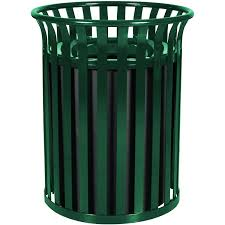 outdoor trash cans with wheels heavy duty gallon capacity outdoor steel garbage receptacle rubbermaid outdoor trash