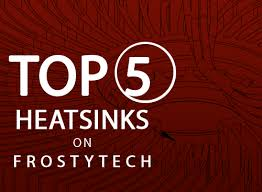 Heatsink Comparison Chart Top 5 Heatsink Charts On Frostytech Com