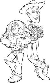 Small Picture Toy Story Character named Hamm Coloring Pages Toy Story