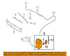 02 suzuki xl7 engine diagram fluid reservoirs 02 automotive suzuki car and truck windshield wiper systems