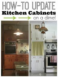 update kitchen cupboard doors how to update kitchen cabinets on a dime1 550x735