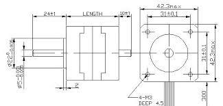 step motor nema 17 wiring diagram