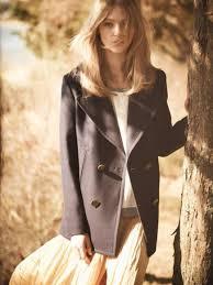 pink plaid design double ted stylish coat 022341 women s