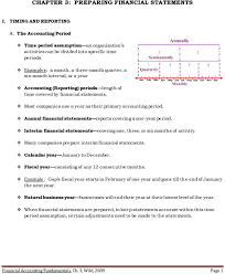 Financial Statement Cover Letter Chapter 3 Preparing Financial Statements Pdf