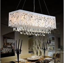 chandelier for small dining room lovely gorgeous rectangular crystal chandelier dining room mod of chandelier for
