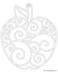 Apple Coloring Pages For Kids At Getdrawingscom Free For Personal
