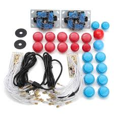 arcade diy kits parts usb encoder for pc joystick with 20pcs ons cod