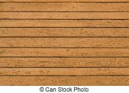 Natural wooden blue boards wall or fence with knots stock photo