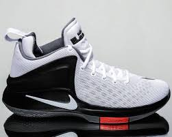 lebron witness. nike zoom witness lebron men basketball shoes new white black grey 852439-100