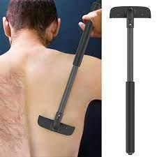 Tıraş makinesi ekstra uzun saplı geri epilasyon ve vücut tıraş makinesi ve  düzeltici kiti arka saç jilet|Hair Trimmers