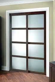 72x80 sliding closet door colonial fusion plus framed frosted glass sliding door at colonial fusion plus