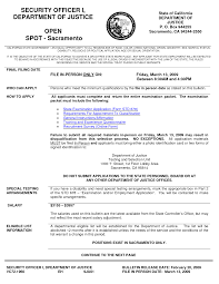 Security Officer Resume Sample armed security guard resume sample Ozilalmanoofco 16