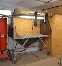 Workshop Cabinets Diy Eigenbau Sandstrahlkabine Sandstrahler Diy Sandblasting Cabinet