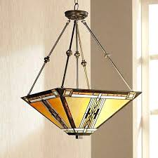 craftsman style lighting. New Mission Style Pendant Light Walnut Chandelier Lamps Plus Outdoor . Craftsman Lighting