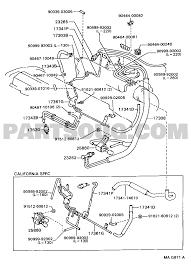 Vacuum piping toolenginefuel group st204l blmgka celica eu mag871a part catalog eumodel code st204l blmgkagroup 1708 toyota 2 2 5sfe engine diagram