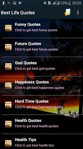 Best Life Quotes For Android Apk Download