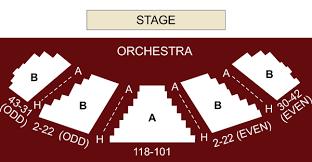 Mitzi E Newhouse Theater New York Ny Seating Chart