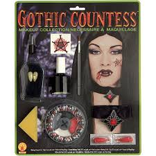 deluxe gothic countess makeup kit