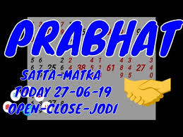 Prabhat Guessing Chart Videos Matching Prabhat Satta Kmatka Today 27 06 19 Open To