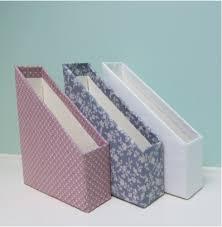 Fabric Magazine Holder DIY Fabric Covered Magazine Holders hello aerie 4
