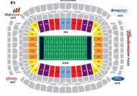 Houston Reliant Stadium Seating Chart Nrg Stadium Seating Chart Seating Chart
