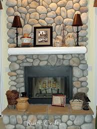decorating a fireplace mantel fall decor ideas rustic