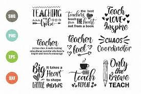 Upload svg file type for layers. Teacher Svg Bundle Svg Design Bundles Teacher