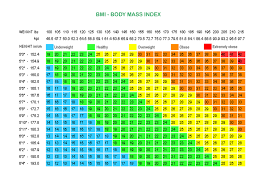 Bmi Chart For Weight Lifters Bmi Chart For Women By Age Weight Loss Surgery